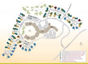 Floor Plan of Patio Homes Map