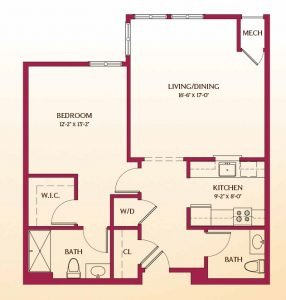Floor Plan of Buckingham
